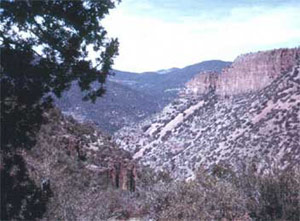 Photograph taken in  the Salome Wilderness
